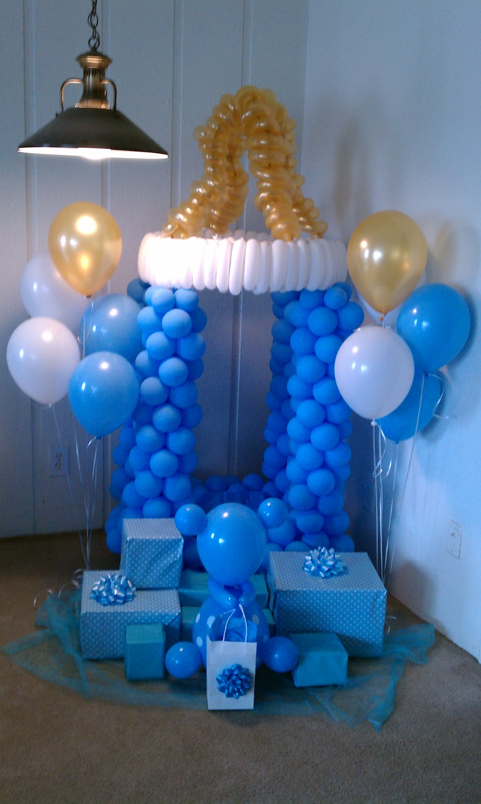 baby shower balloons party favors ideas. Black Bedroom Furniture Sets. Home Design Ideas